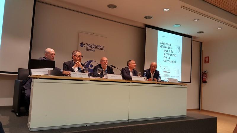 17 d'octubre El director de l'Agència Valenciana Antifrau participa en la Jornada tècnica dedicada al Sistema d'Alertes per a la prevenció de la Corrupció en el saló Ausiàs March de la Fundació Bancaixa de València